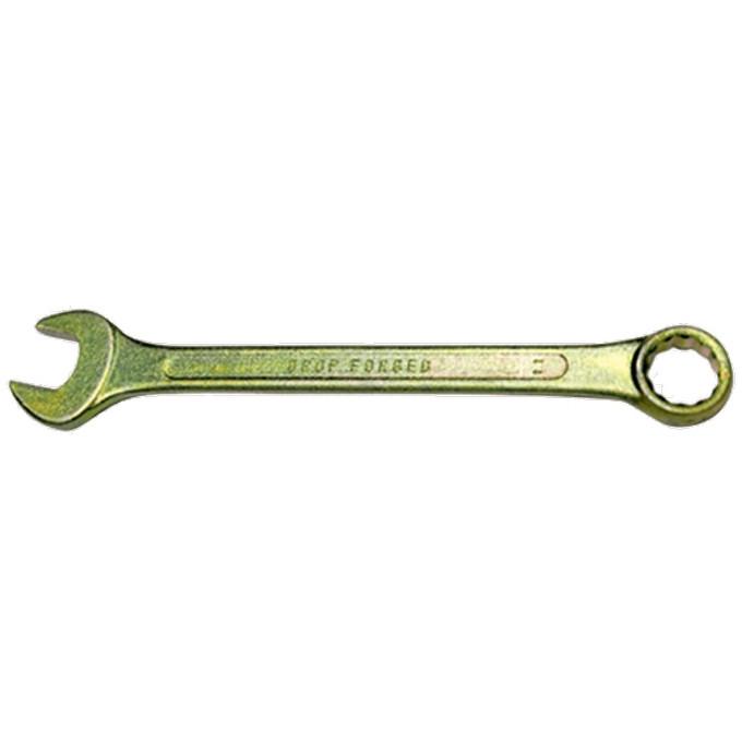 Ключ комбинированный, 10 мм, желтый цинк СИБРТЕХ