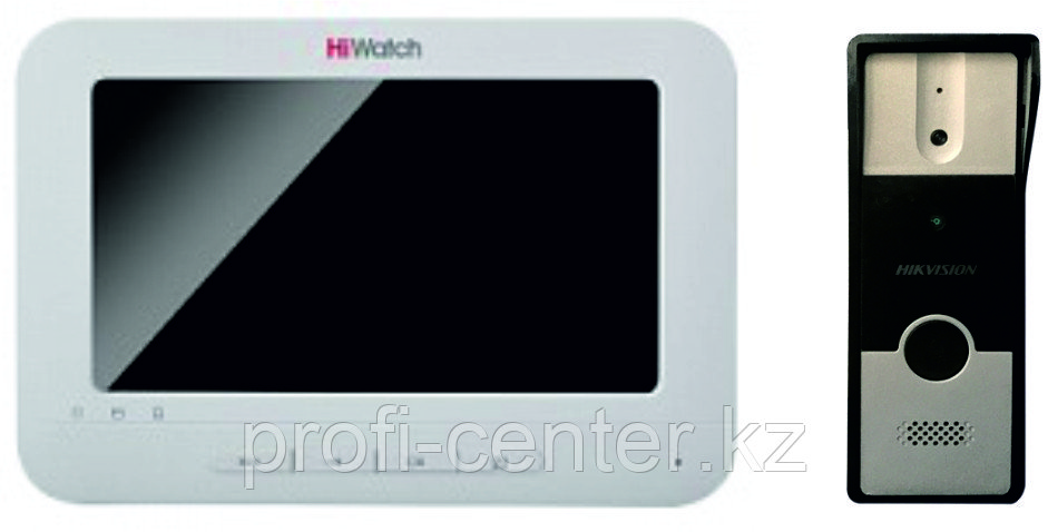 DS-KH2220 (монитор видеодомофона)+DS-KB2411-IM