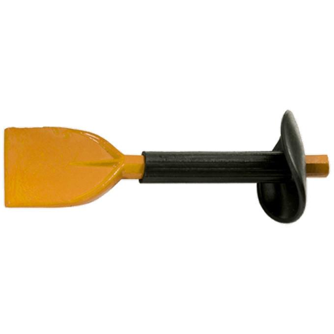 Зубило, 210 х 60 мм, с протектором SPARTA