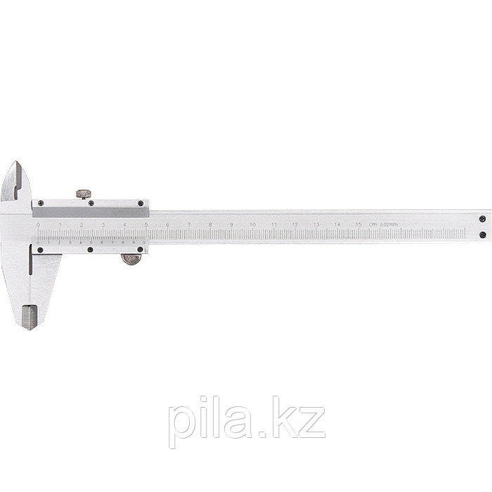Штангенциркуль, 250 мм, цена деления 0,02 мм, металлический, с глубиномером MATRIX