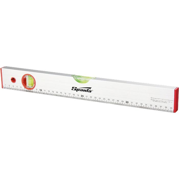 Уровень алюминиевый, 1200 мм, 2 глазка, линейка SPARTA