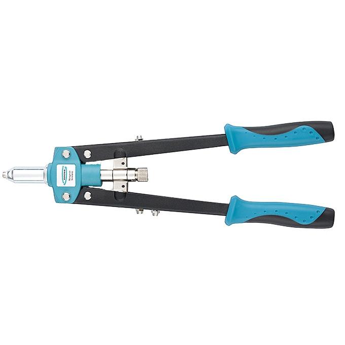 Заклепочник двуручный 420 мм, двухкомпонентные рукоятки, для заклепок 2.4-3.2-4.0-4.8 GROSS