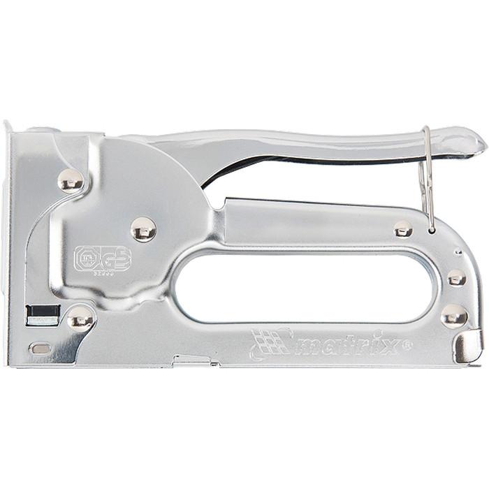 Степлер мебельный, тип скобы 53, 4-8 мм MATRIX MASTER