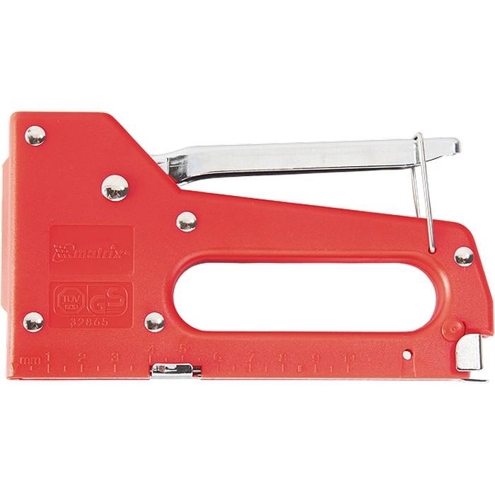 Степлер мебельный пластиковый, тип скобы 53, 4-8 мм MATRIX