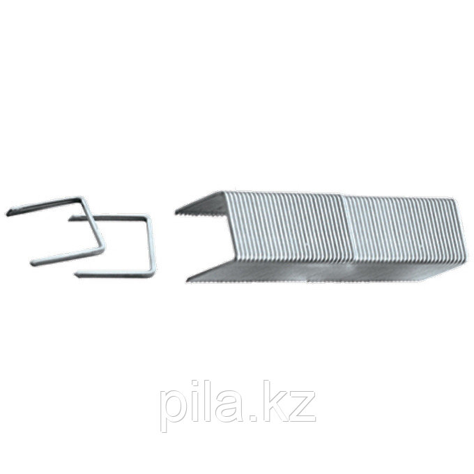Скобы, 6 мм, для мебельного степлера, заостренные, тип 53, 1000 шт. MATRIX