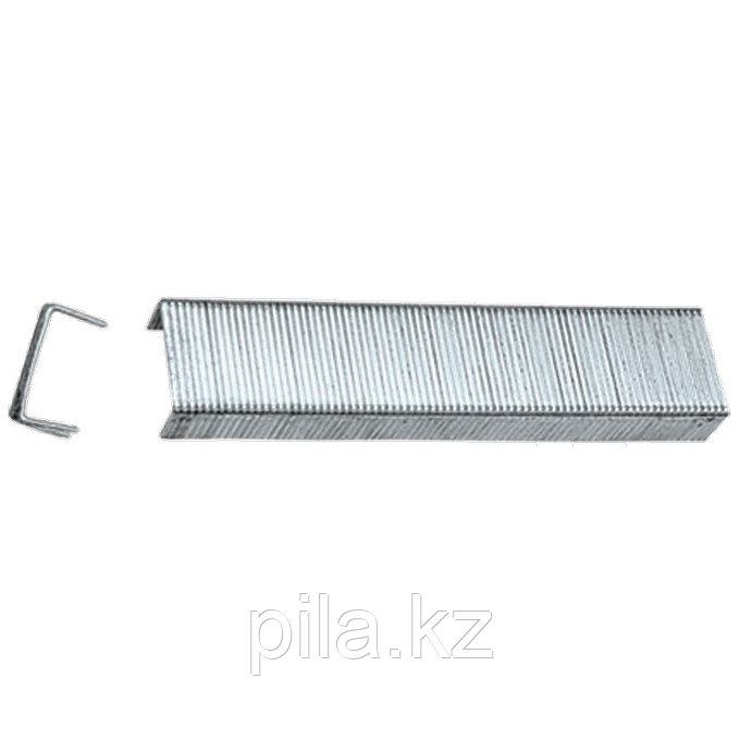 Скобы, 14 мм, для мебельного степлера, закаленные, тип 53, 1000 шт. MATRIX MASTER