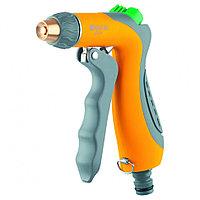 Пистолет-распылитель, трёхрежимный, регулятор напора, курок спереди, эргономичная рукоятка PALISAD LUXE