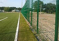 Монтаж футбольного поля, фото 1