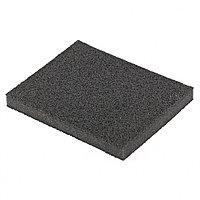 Губка для шлифования, 125 х 100 х 10 мм., мягкая, P80 MATRIX