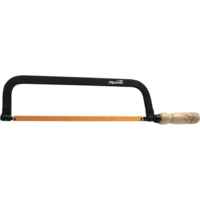 Ножовка по металлу, 300 мм, деревянная ручка SPARTA