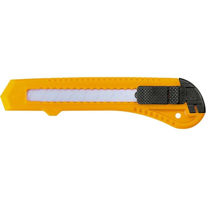 Нож,18 мм, выдвижное лезвие SPARTA