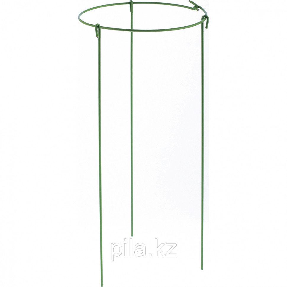 Опора для растений круглая, d 14 см. h 30 см., 5 штук в упаковке, металл в пластике PALISAD