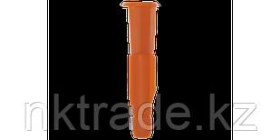 Дюбель универсальный полипропиленовый с бортиком