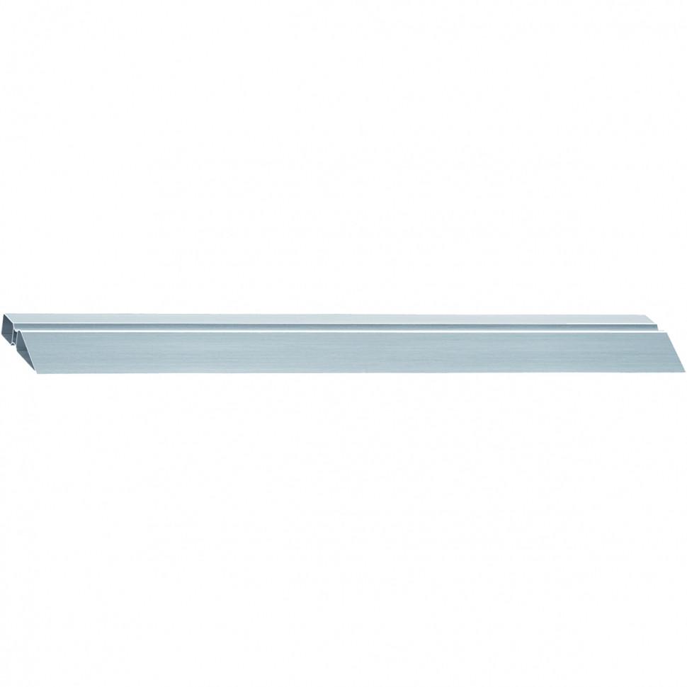 Правило алюминиевое, двойной захват, 2 ребра жесткости, L-2.5 м MATRIX