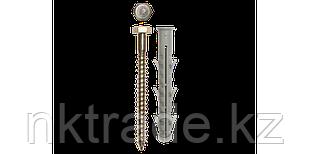 Дюбель рамный нейлоновый с шурупом (шестигранная головка)