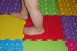 Детский Коврик массажный ОРТО ПАЗЛ Первые шаги, фото 2