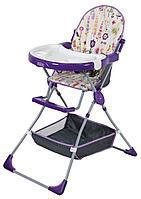 Стульчик для кормления Selby 252 яркий луг фиолетовый, фото 1