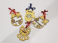 Новогодние игрушки с именами, фото 1