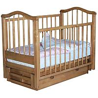 Кроватка детская Камелия (цвет бук с ящиком), фото 1