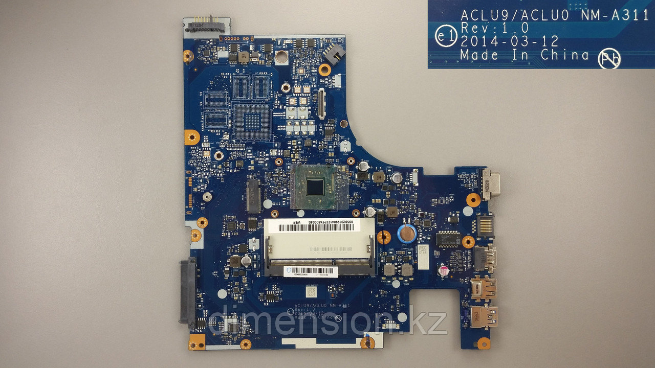 Материнская плата ACLU9 ACLU0 NM-A311 Rev. 1.0 LENOVO G50 G50-30