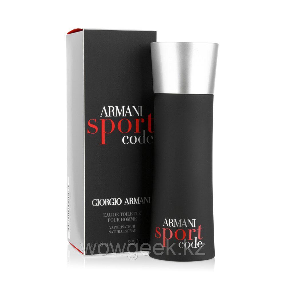 Туалетная вода Giorgio Armani Code Sport