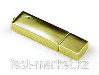 USB флеш память на 8Gb золотистый
