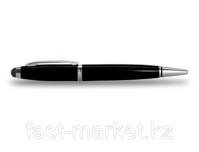 USB флеш память на 16Gb, в форме ручки (черная паста)