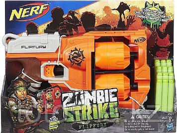 Бластер Nerf Zombie Strike Flipfury Зомби страйк Переворот , A9603