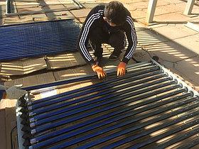 Ремонт солнечной водонагревательной системы в г. Шымкент 6