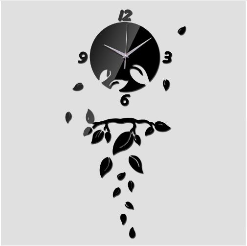 Акриловые часы на стену