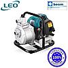 Мотопомпа бензиновая LGP15 LEO | Ø 32 мм, max 40 м, 14000 л/час