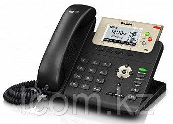 Yealink SIP-T23G SIP-телефон, 3 линии, PoE, GigE, с БП