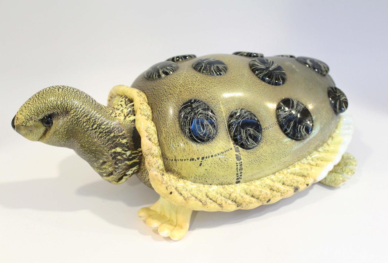 Черепаха. Венецианское стекло. Ручная работа, Италия