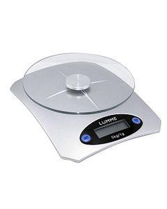 Весы кухонные LUMME LU-1319 электронные металлик