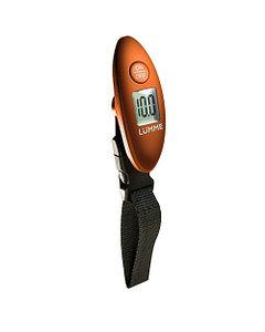 Безмен ручной LUMME LU-1326 электронный оранжевый
