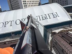 Коттеджный городок Назарбаев Университета 67 коттеджей, установлено 201 коллектор 18