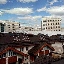 Коттеджный городок Назарбаев Университета 67 коттеджей, установлено 201 коллектор 25