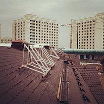 Коттеджный городок Назарбаев Университета 67 коттеджей, установлено 201 коллектор 26