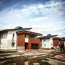 Коттеджный городок Назарбаев Университета 67 коттеджей, установлено 201 коллектор 29