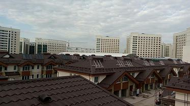 Коттеджный городок Назарбаев Университета 67 коттеджей, установлено 201 коллектор 28