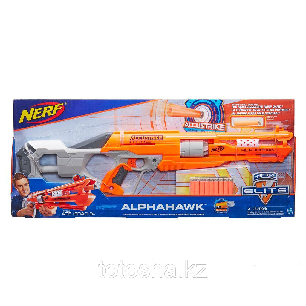 Бластер Nerf Elite Alphahawk Элит Аккустрайк Альфахок , B7784