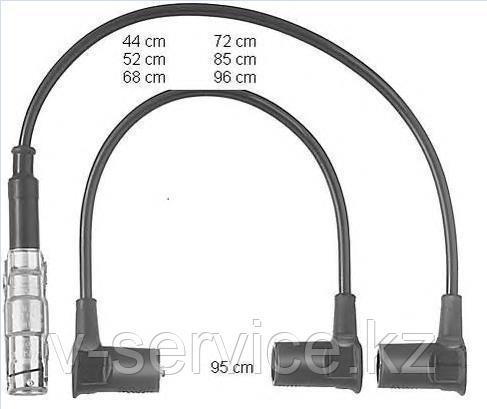 Провода высокого напряжения M103(ZEF 558)(BERU 558)(дубликат)