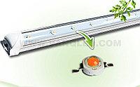 Линейная фитолампа 120 см для стеллажей и подоконников, фото 1