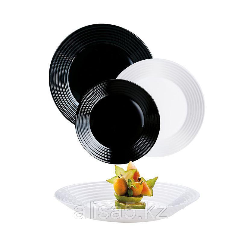 Сервиз столовый HARENA white and black 18 предметов