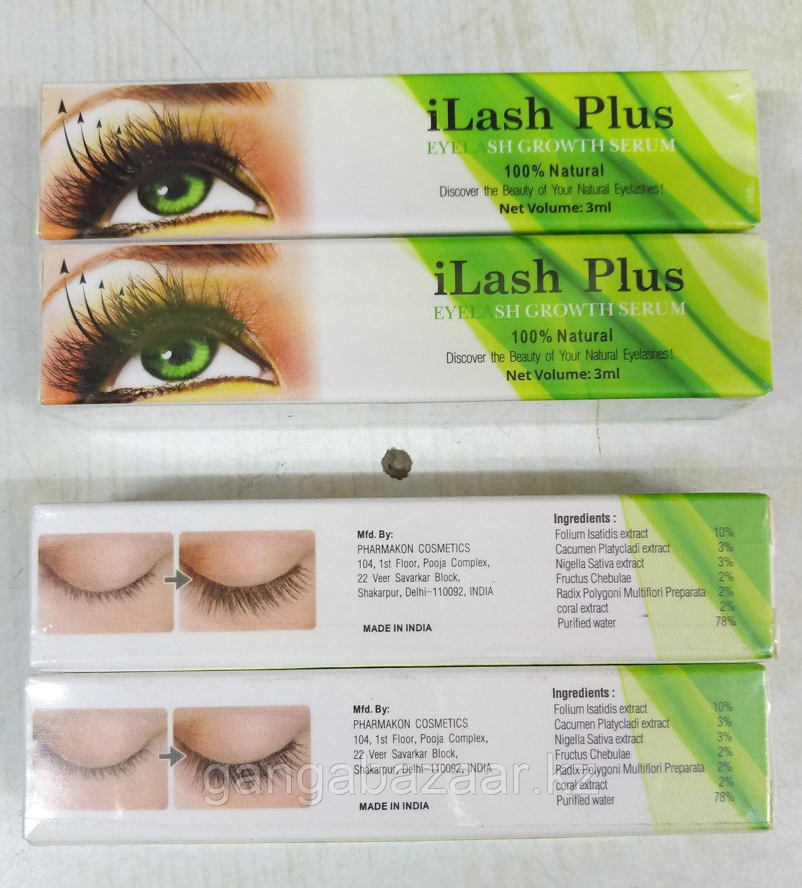 Сыворотка масло для роста ресниц Айлэш плас (Ilash Plus)