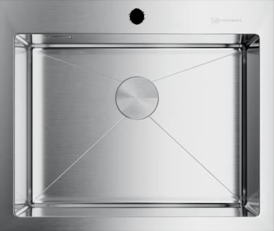 Кухонная мойка стальная OMOIKIRI Akisame 59-IN    (4973055)