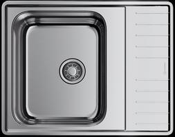 Кухонная мойка нержавеющая сталь OMOIKIRI Sagami 63-IN     (4993448)