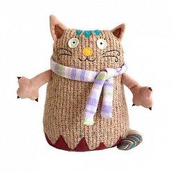 Мягкая игрушка – Кот Котейка, розовый