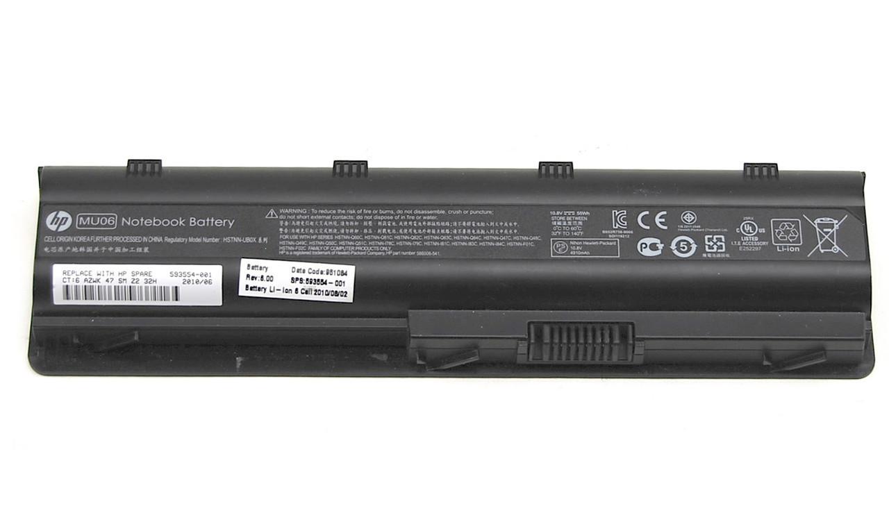 Аккумулятор для ноутбука HP MU06 (10.8V 4400 mAh)