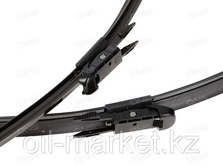 Комплект бескаркасных щёток стеклоочистителя DENSO 600/550 мм Scoda Superb >08, Volvo S60 >00, S80 98-06, V70, фото 2